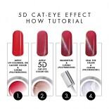 3D - Violet Cat-Eye Color-Gel 5g.