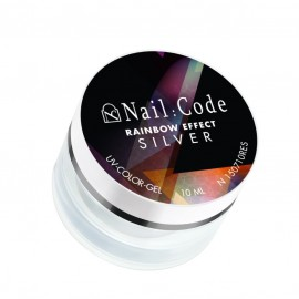 UV-Gel | Rainbow-Effect | Silver 10ml.
