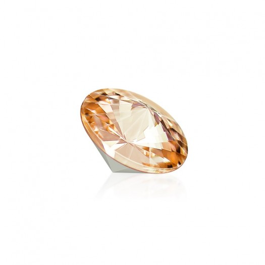 Strass-Stein Swarovsi | gold | 8mm