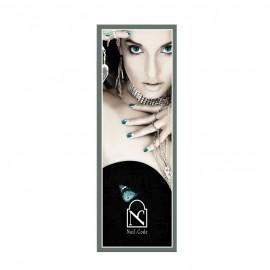 """Poster """"feminin-turquoise"""""""
