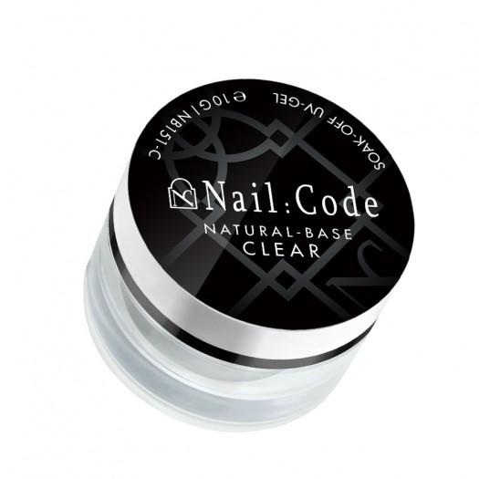 Natural-Base CLEAR | Soak-Off -10g.