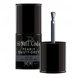 Pearly Dusty-Grey Cover Color-Gel 10ml