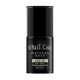 Natural-Base MILKY 12,5 ml. | Soak-Off Bottle