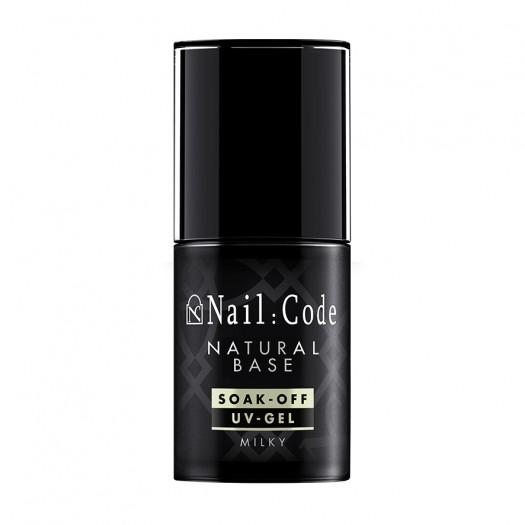 Natural-Base MILKY 12,5 ml. | Soak-Off Flasche