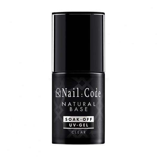 Natural-Base CLEAR 12,5 ml.   Soak-Off Bottle