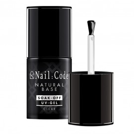 Natural-Base CLEAR 12,5 ml. | Soak-Off Bottle