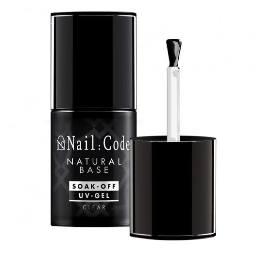 Natural-Base CLEAR 12,5 ml. | Soak-Off Bottle