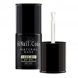 Natural-Base MILKY 12,5 ml. | Soak-Off Flasche