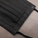 Mundschutz 3 Lagig - steril - 50 Stück - Black