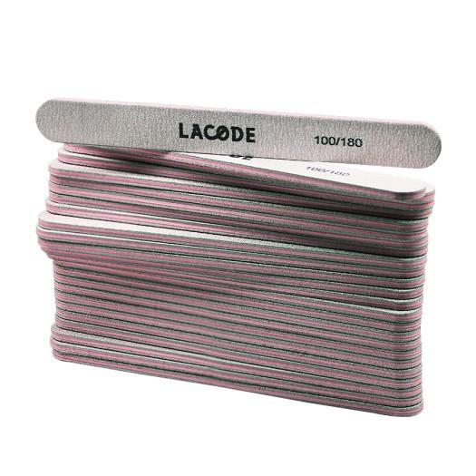 LACODE TURBO - Zebra-Feilen 100/180 - Set 25 Stück