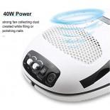 Multifunktionsgerät: elektrische Nagelfeile, Staubsauger, UV/LED Lampe
