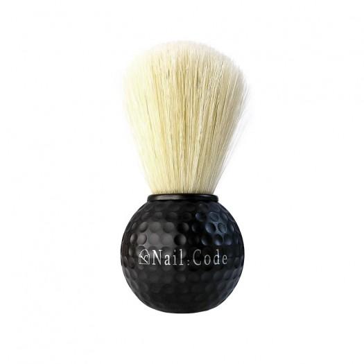 Dust Brush - Golfballdesign-Black