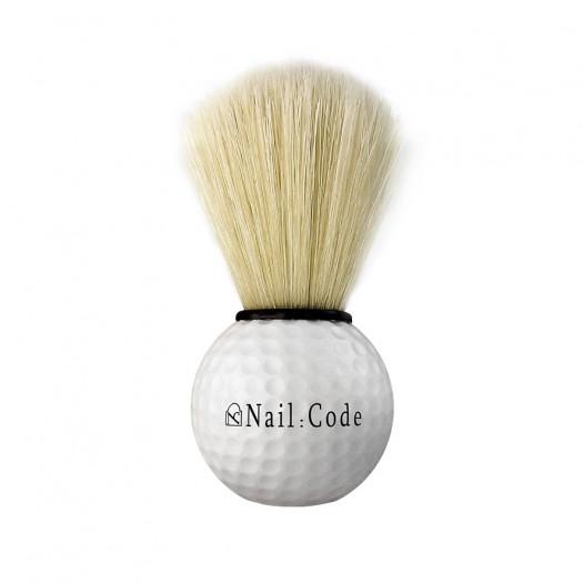 Staubpinsel - Golfballdesign-White